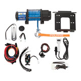 Polaris Pro HD Winch with Mount Plate