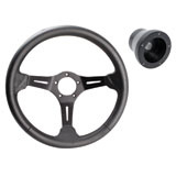 Polaris Deluxe Performance Steering Wheel with Adapter