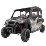 Polaris Canvas Upper Doors With Poly Windows