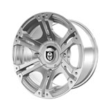 Polaris SIXr Alloy Wheel by Pro Armor Luster Chrome