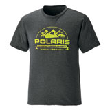 Polaris Roseau T-Shirt  Charcoal Heather