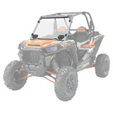 Polaris Lock & Ride Hard-Coat Vented Full Poly Windshield
