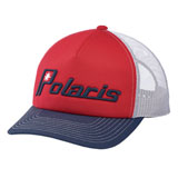 Polaris Retro Snapback Hat Red