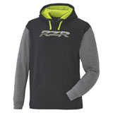 Polaris RZR Logo Hooded Sweatshirt Grey/Lime