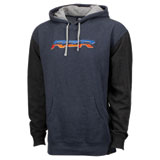 Polaris RZR Logo Hooded Sweatshirt Navy/Orange