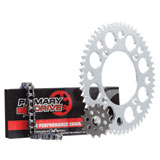 Primary Drive Alloy Kit & 420 MC Chain Silver Rear Sprocket