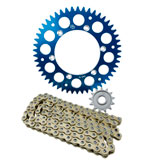 Primary Drive Alloy Kit & Gold X-Ring Chain
