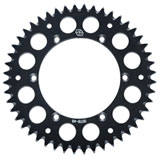 Primary Drive Rear Aluminum Sprocket Black