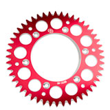 Primary Drive Rear Aluminum Sprocket Red
