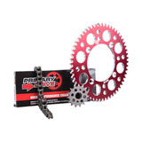 Primary Drive Alloy Kit & 420 MC Chain Red Rear Sprocket
