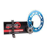 Primary Drive Alloy Kit & 428 C Chain Blue Rear Sprocket