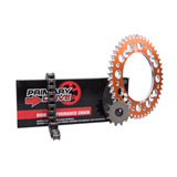 Primary Drive Alloy Kit & 428 C Chain Orange Rear Sprocket