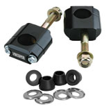 Pro-Taper Universal Rubber Mounted Handlebar Clamp Kit with Polyurethane Bushings