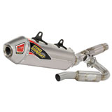 Pro Circuit TI-5 Titanium Complete Exhaust System With Titanium End Cap