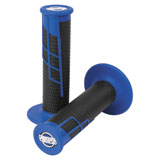ProTaper Clamp-On Grip System - Half Waffle Blue/Black