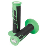 ProTaper Clamp-On Grip System - Half Waffle Neon Green/Black
