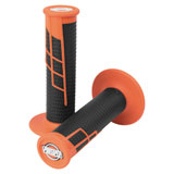 ProTaper Clamp-On Grip System - Half Waffle Orange/Black