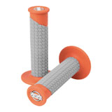 ProTaper Clamp-On Grip System - Pillow Top Orange/Grey