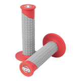 ProTaper Clamp-On Grip System - Pillow Top Red/Grey