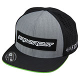 Pro Circuit Tech Snapback Hat Black/Grey