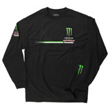 Pro Circuit Monster Race Team Logo Long Sleeve T-Shirt Black
