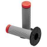 ProTaper Tri-Density MX Grips - Full Diamond Red