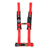 "Pro Armor 5-Point 2"" Safety Harness With Sewn In Pads Red"