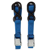Pro Honda Tie-Down Set Blue