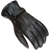 Power-Trip Women's Jet Black Lined Gloves