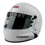 Pyrotect Pro Sport Full Face Duckbill Side Forced Air Helmet White