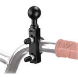 "Ram Mounts Motorcycle Combination Base for Handlebar or Brake/Clutch Reservoir with 1"" Ball"