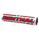 Renthal Factory SX Crossbar Pad White/Red