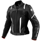 REV'IT! Galactic Ladies Leather Motorcycle Jacket