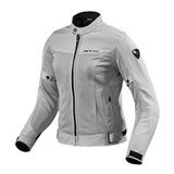 REV'IT! Women's Eclipse Jacket Silver
