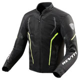 REV'IT! GT-R Air 2 Jacket Black/Neon Yellow