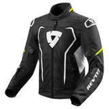 REV'IT! Vertex Air Jacket Black/Neon Yellow