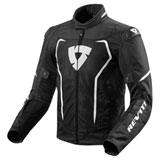 REV'IT! Vertex Air Jacket Black/White