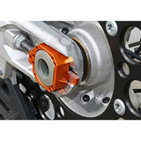 Ride Engineering KTM/Husky Billet Axle Blocks Orange
