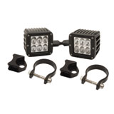 Rigid Industries Dually D2 LED Drive Beam Lights With Vertical Light Mounts