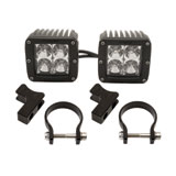 Rigid Industries Dually 2x2 LED Lights With Horizontal Light Mounts