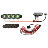 Rigid Industries A-Series 4-Piece Rock Light Kit