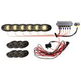 Rigid Industries A-Series 6-Piece Rock Light Kit