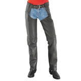 River Road Women's Basic Leather Chaps