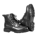 River Road Side-Zip Highway Motorcycle Boots