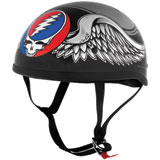 River Road Grateful Dead Flying Steal Your Face Half-Face Motorcycle Helmet