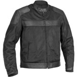 River Road Pecos Leather Mesh Motorcycle Jacket
