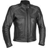 River Road Scout Leather Motorcycle Jacket