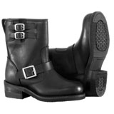 River Road Twin Buckle Engineer Ladies Motorcycle Boots
