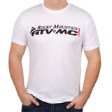 Rocky Mountain ATV/MC The Axis T-Shirt White