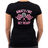 Rocky Mountain ATV/MC Women's Checker T-Shirt